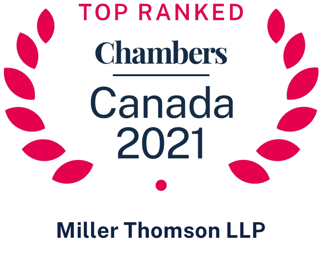 Chambers Canada 2021 - Miller Thomsom LLP