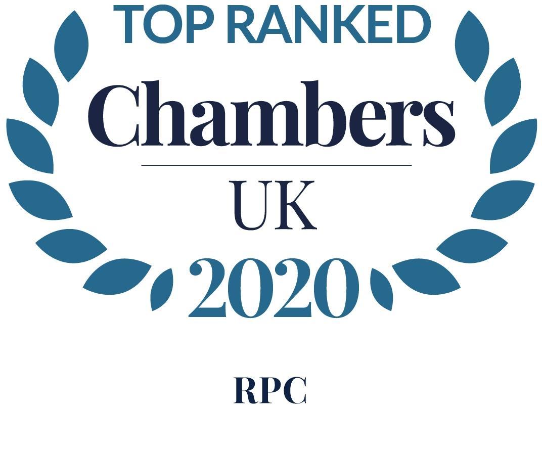 Chambers UK 2020 Top Ranked
